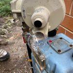 gas meter leak detection