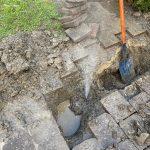 walkway water leak detection