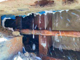 water leaks in house